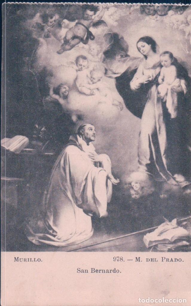 POSTAL MURILLO - SAN BERNARDO - M.DEL PRADO 98 LACOSTE (Postales - Postales Temáticas - Arte)