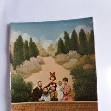 Postales: TARJETA POSTAL DE ARTE - ISABEL VILLAR 1974 - FAMILIA EN EL ESTANQUE. Lote 179170258