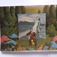Postales: TARJETA POSTAL DE ARTE - ISABEL VILLAR 1974 - CARTEL DEL HOMBRE ROMANTICO. Lote 179170318