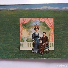 Postales: TARJETA POSTAL DE ARTE - ISABEL VILLAR 1974 - CARTEL DEL PALACETE. Lote 179170396