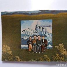 Postales: TARJETA POSTAL DE ARTE - ISABEL VILLAR 1974 - CARTEL DEL BARCO DE GUERRA. Lote 179170471