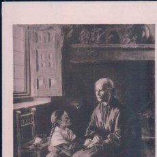 Postales: POSTAL MUSEO MUNICIPAL DE SAN SEBASTIAN. EL DIA DE ANIMAS. ED. RESINES FOTO.. Lote 179325401