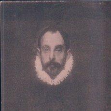Postales: POSTAL DE ARTE. EL GRECO. RETRATO. Nº 2125 HAUSER Y MENET. Lote 179326152