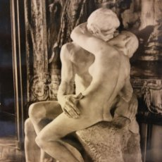 Postales: MUSÉE RODIN. LE BAISER. USADA. Lote 179376921