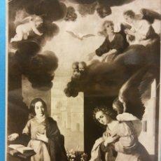 Postales: FRANCISCO DE ZURBARÁN (1598-1664). L 'ANNONCIATION. MUSÉE DE GRENOBLE. USADA. Lote 179377747