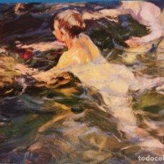 Postales: JOAQUÍN SOROLLA BASTIDA 1863-1923. MUSEO SOROLLA - MADRID. NADADORES 1905. NUEVA. Lote 179379952