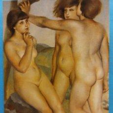 Postales: MUSEO DE ARTE MODERNO (BARCELONA) PRIMAVERA DE LA VIDA. JOSÉ DE TOGORES (1893). NUEVA. Lote 179380076