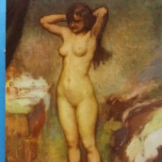 Postales: MUSEO DE ARTE MODERNO (BARCELONA). DESNUDO. RICARDO CANALS (1877-1931). NUEVA. Lote 179380157