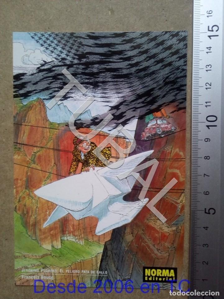 TUBAL POSTAL SALO DEL COMIC 2000 NORMA JERONIMO PUCHERO ENVÍO 70 CENT 2019 B05 (Postales - Postales Temáticas - Arte)