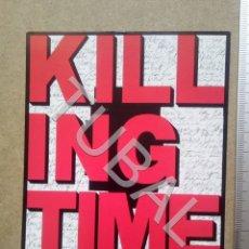 Postales: TUBAL POSTAL ROBERT LONGO KILLING TIME 1993 ENVÍO 70 CENT 2019 B05. Lote 180104075