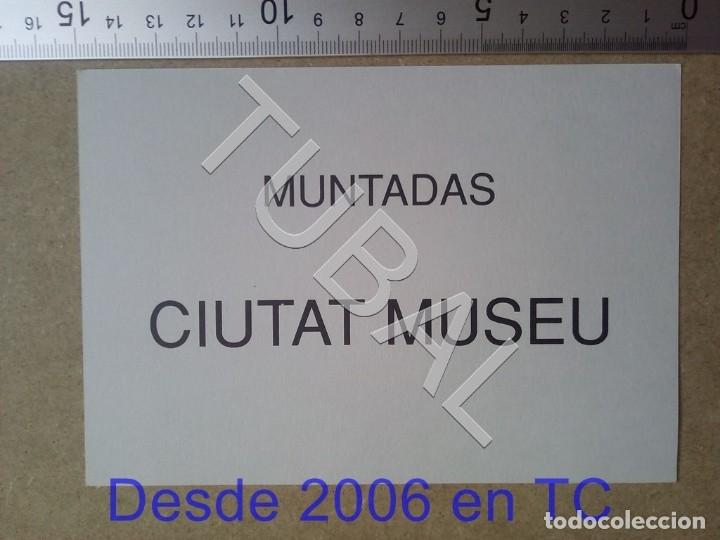 TUBAL MUNTADAS CIUTAT MUSEU 1992 BARCELONA POSTAL TARJETA ENVÍO 70 CENT 2019 B05 (Postales - Postales Temáticas - Arte)