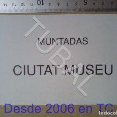 Postales: TUBAL MUNTADAS CIUTAT MUSEU 1992 BARCELONA POSTAL TARJETA ENVÍO 70 CENT 2019 B05. Lote 180104922