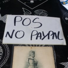 Postales: POSTAL LA INFANTA DOÑA MARIA ISABEL FRANCISCA CIRCULADA CON SELLO Y MATASELLOS A MUELLE 5 SANTANDER. Lote 180240818