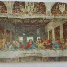 Postales: POSTAL DE LA ULTIMA CENA DE LEONARDO DA VINCI, MILAN. ITALIA. Lote 180252985