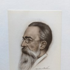 Postales: TARJETA POSTAL DEL MÚSICO RIMSKY-KORSAKOW. DIBUJO DE BERNARDINO DE PANTORBA. 1945. Lote 180425456