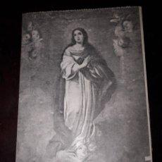Postales: Nº 11928 POSTAL CUADRO MURILLO UNA CONCEPCION MUSEO DE SEVILLA. Lote 180475328