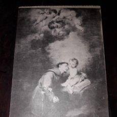 Postales: Nº 11929 POSTAL CUADRO MURILLO SAN ANTONIO DE PADUA MUSEO DE SEVILLA. Lote 180475472