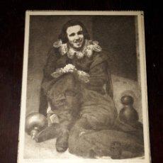 Postales: Nº 11934 POSTAL CUADRO VELAZQUEZ EL BOBO DE CORIA MUSEO DEL PRADO. Lote 180475971