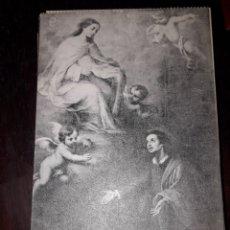 Postales: Nº 11942 POSTAL CUADRO SAN PEDRO NOLASCO MUSEO DE SEVILLA. Lote 180477035