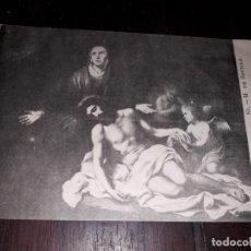 Postales: Nº 11953 POSTAL CUADRO LA PIEDAD MUSEO DE SEVILLA . Lote 180477638