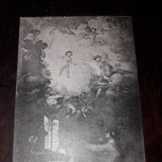 Postales: Nº 11954 POSTAL CUADRO MURILLO APARICION DEL NIÑO JESUS A SAN ANTONIO CATEDRAL DE SEVILLA. Lote 180477831