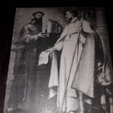 Postales: Nº 11957 POSTAL CUADRO MURILLO SAN LEANDRO Y SAN BUENAVENTURA MUSEO DE SEVILLA. Lote 180478330