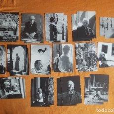 Postales: LOTE 30 POSTALES FOTOGRAFIA F. CATALÀ ROCA SIN USAR AÑOS 50 MIRÓ CALDER HEMINGWAY. Lote 180478500