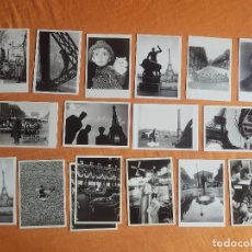 Postales: LOTE 33 POSTALES FOTOGRAFIA SIN USAR AÑOS 50, 60 ERWITT, DOISNEAU, RIBOUD... Lote 180479235