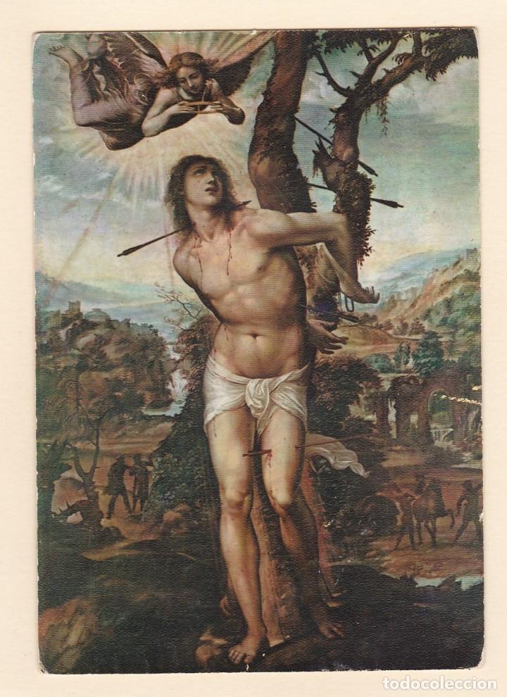 POSTAL CUADRO SAN SEBASTIAN. ANTONIO BAZZI DE EL SODOMA. GALERIA PITTI. FLORENCIA (ITALIA) (Postales - Postales Temáticas - Arte)