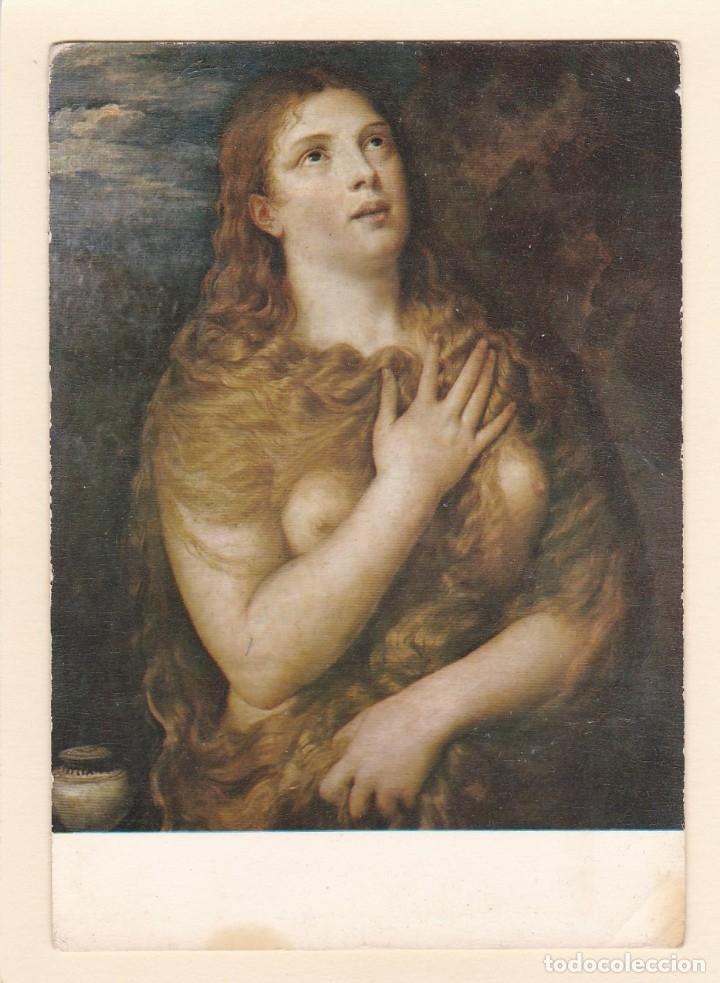 POSTAL CUADRO MAGDALENA PENITENTE. TIZZIANO. GALERIA PITTI. FLORENCIA (ITALIA) (Postales - Postales Temáticas - Arte)