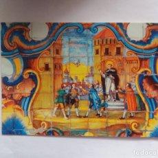 Postales: TARJETA POSTAL - MIRACLE DEL MOCADORET - PANEL DE AZULEJOS DEL POUET DE SANT VICENT. Lote 180856341