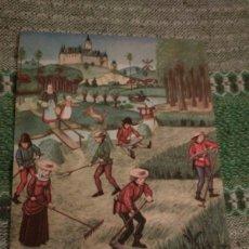 Postales: SEGADORES DE HENO, DIBUJO DE L ULLMAN. NEO-ANTERGAN FENERGAN INDUSTRIA FARMACEUTICA. Lote 180904116