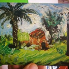 Postales: POSTAL MUSEO PICASSO BARCELONA PAYSAGE. Lote 181168051