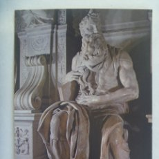 Postales: POSTAL DEL MOISES DE MIGUEL ANGEL, BASILICA DE SAN PEDRO EN VINCOLI, ROMA ( ITALIA ). Lote 181198685