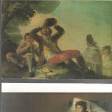 Postales: GOYA.7 POSTALES DE CUADROS DEL PINTOR.. Lote 181495402
