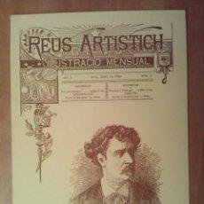 Postales: POSTAL NAVIDEÑA : REAU ARTISTICH - MARIAN FORTUNY. Lote 182140377