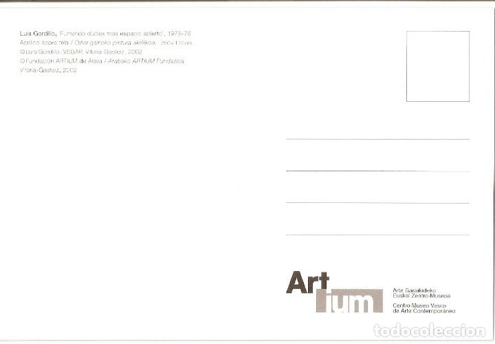 Postales: POSTAL PUBLICITARIA - CENTRO MUSEO VASCO de ARTE CONTEMPORANEO - ARTIUM - Foto 2 - 182755290