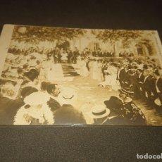 Postales: ANTIGUA POSTAL SALON 1909 RECEPTION DU PRESIDENT DE LA REPUBLIQUE, ,USADA, LEER DESCRIPCION. Lote 182817252