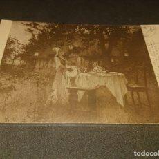 Postales: ANTIGUA POSTAL SALON NOCHE DE VERANO, ,USADA, LEER DESCRIPCION. Lote 182817267
