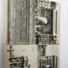 Postales: LOTE 4 POSTALES FRANCESAS DE PARÍS, ARCO DE TRIUNFO 1910S 3 Y UNA DE LA PORTE SE SAINT MARTIN 1934. Lote 182828332