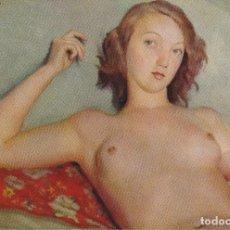 Postales: POSTAL OBRA DE JOSÉ DE TOGORES, DESNUDO FEMENINO (1893) – ESCUDO DE ORO Nº 4 – S/C. Lote 182857206