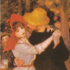 Postales: POSTAL OBRA DE PIERRE AUGUSTE RENOIR, DANCE AT BOUGIVAL (1883) – ATHENA 9052 – S/C. Lote 182857238