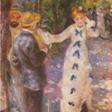 Postales: POSTAL OBRA DE PIERRE AUGUSTE RENOIR, THE SWING (1876) – ATHENA 9054 – S/C. Lote 182857271