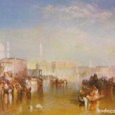 Postales: POSTAL OBRA DE JOSEPH MALLORD WILLIAM, VENECIA (DETAIL) – ATHENA 9060 – S/C. Lote 182857325