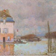 Postales: POSTAL OBRA DE ALFRED SISLEY, FLOODS AT PORT MARLEY (1876) – ATHENA 9056 – S/C. Lote 182857356