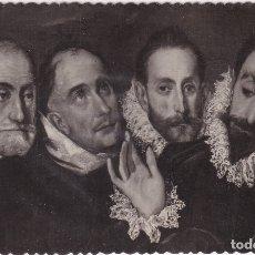 Postales: EL GRECO - ENTIERRO DEL CONDE DE ORGAZ (NO. 147) - TOLEDO - ED. GARCÍA GARRABELLA. Lote 182862810