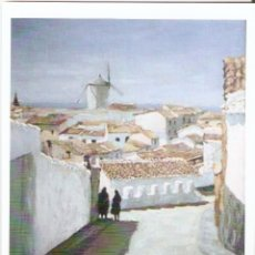 Postales: POSTAL OLEO SOBRE LIENZO - CAMPO DE CRIPTANA. Lote 182883843