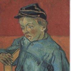 Postales: POSTAL DE ARTE ... VINCENT VAN GOGH. LE GAMIN AU KEPI .. NUEVA. Lote 183602248