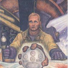 Postales: POSTAL DE ARTE ... DIEGO RIVERA. EL HOMBRE CONTROLADOR DEL UNIVERSO .. NUEVA. Lote 183603116