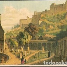 Postales: AUSTRIA ** & POSTAL, ARTISTA ROTTMANN, CEMENTERIO DE SALZBURGO SAN PEDRO (19). Lote 183618986